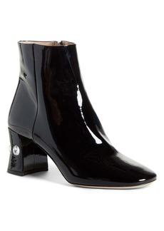Miu Miu Rocchetto Jewel Heel Bootie (Women)