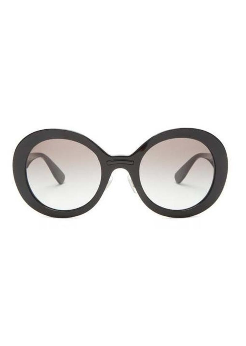 Miu Miu Round acetate sunglasses