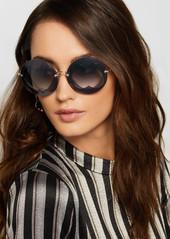 d6b35ddaf40e ... Miu Miu Round-frame layered acetate and gold-tone sunglasses ...