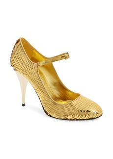 Miu Miu Sequin Mary Jane Pump (Women)