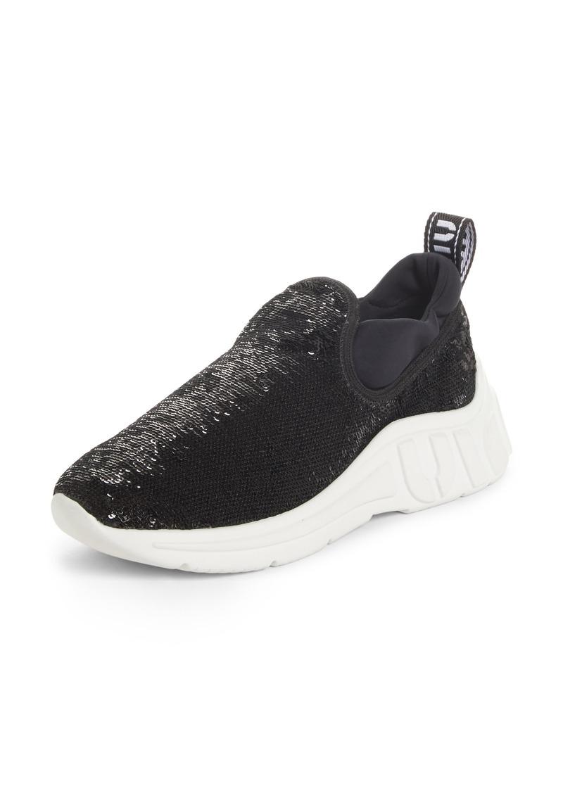 f9b4ac5b5de SALE! Miu Miu Miu Miu Sequin Slip-On Sneaker (Women)