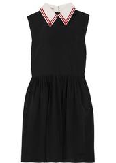 Miu Miu Silk crepe de chine mini dress