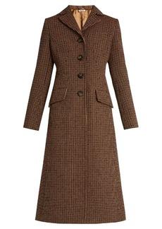 Miu Miu Single-breasted tweed coat