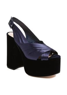 Miu Miu Slingback Platform Sandal (Women)