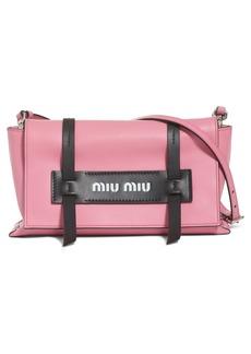 Miu Miu Small Grace Calfskin Shoulder Bag
