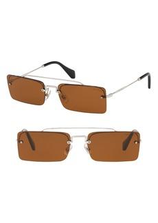 Miu Miu Socit 58mm Square Sunglasses
