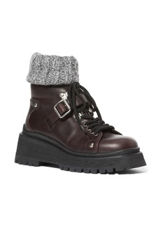 Miu Miu Sock Combat Boot (Women)