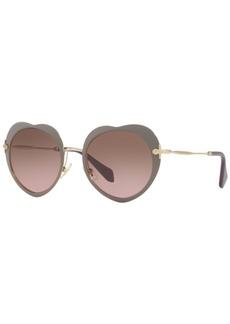 Miu Miu Sunglasses, Mu 54RS 52