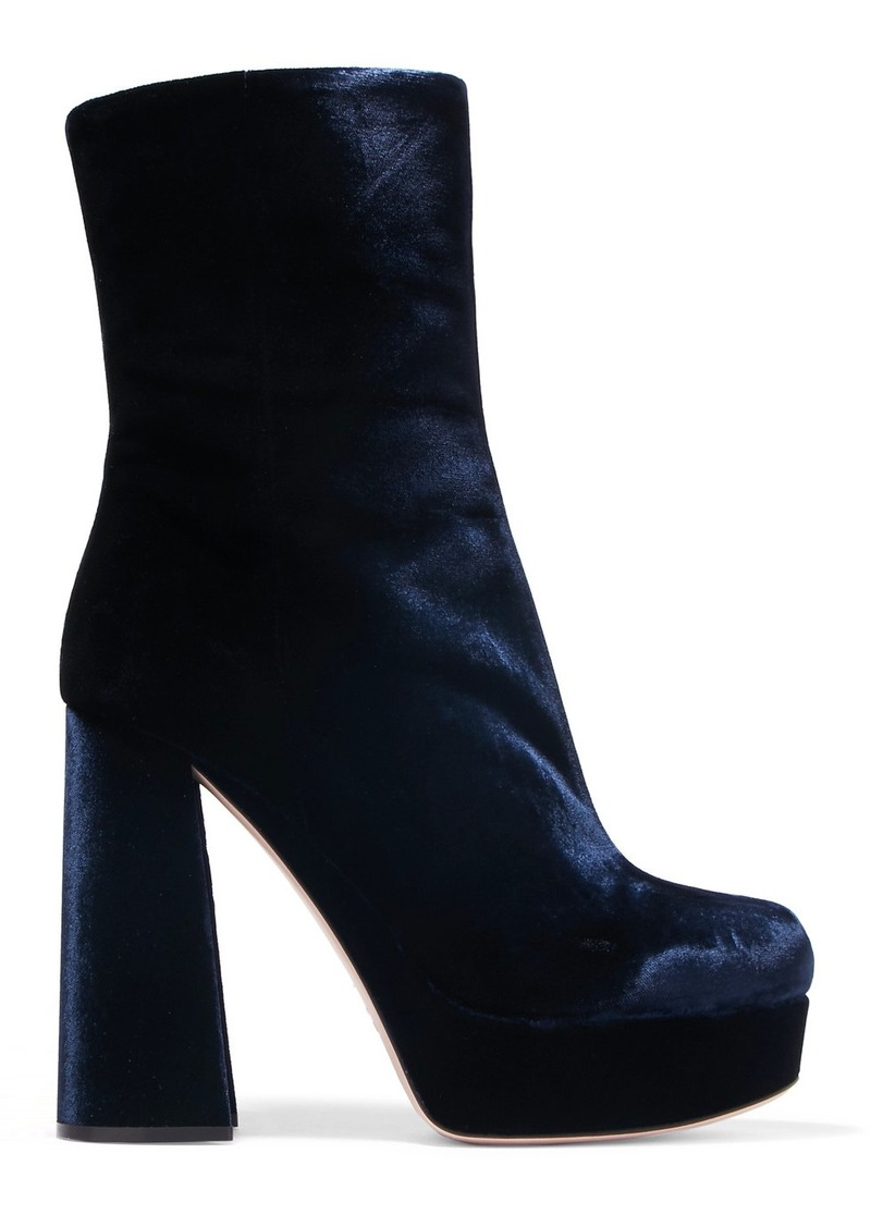 b6a7045439db Miu Miu Miu Miu Velvet platform boots
