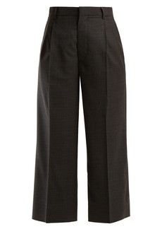 Miu Miu Wide-leg check trousers