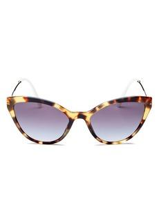 Miu Miu Women's Cat Eye Sunglasses, 55mm