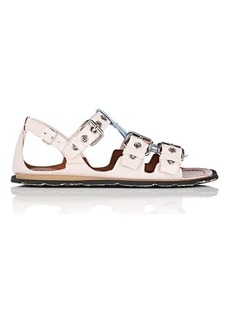 Miu Miu Women's Colorblocked Patent Leather Sandals