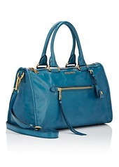 Miu Miu Women's Leather Satchel - Blue