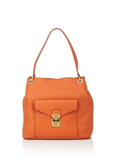 Miu Miu Women's Leather Shoulder Bag - Orange
