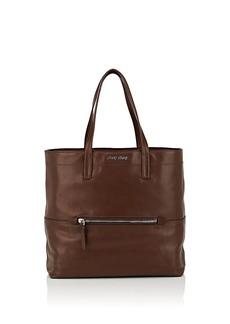 Miu Miu Women's Leather Tote Bag - Brown