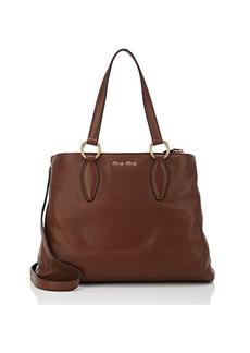 Miu Miu Women's Leather Tote Bag