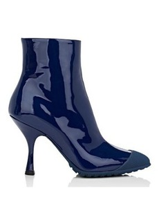 Miu Miu Women's Patent Leather Ankle Boots
