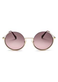 Miu Miu Women's Round Sunglasses, 52mm