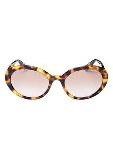 Miu Miu Women's Round Sunglasses, 53mm