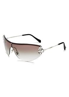 Miu Miu Women's Shield Sunglasses, 165mm