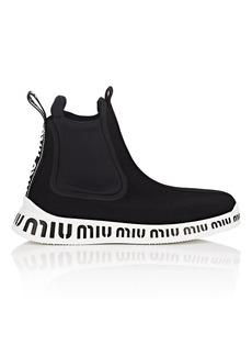 Miu Miu Women's Tech-Knit & Neoprene Ankle Boots