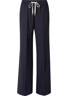 Miu Miu Wool-blend wide-leg pants