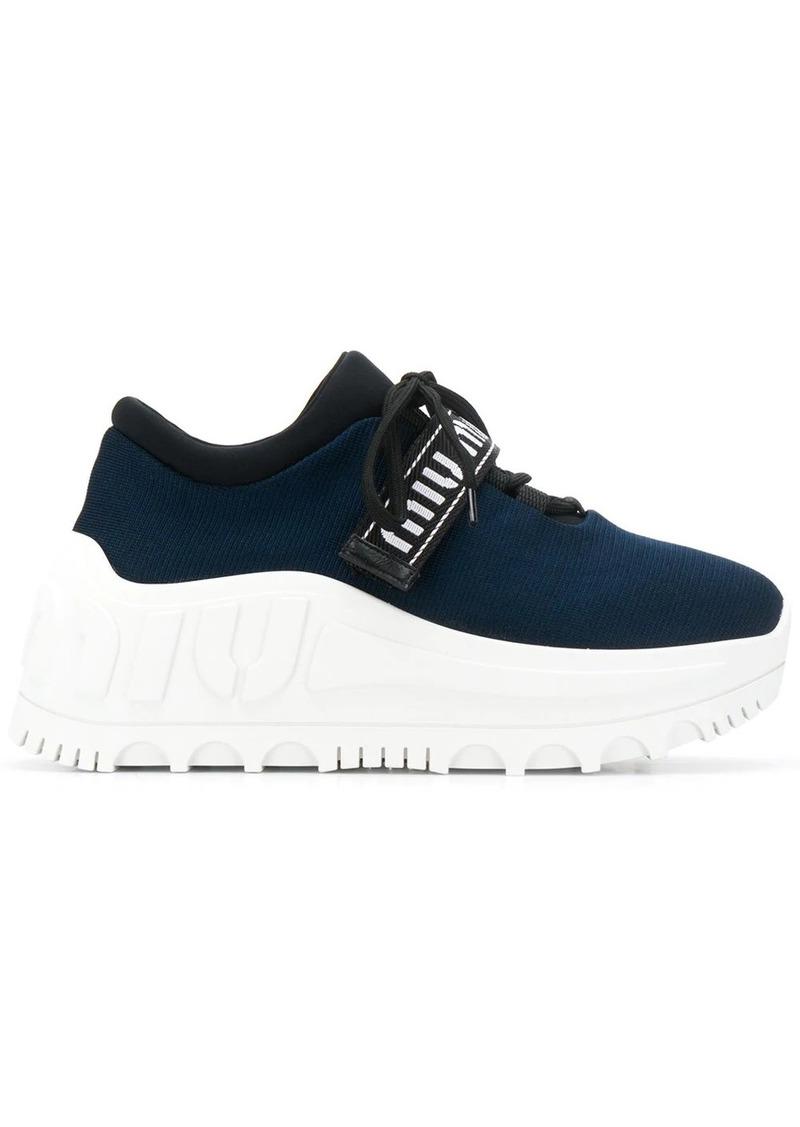 Miu Run platform sneakers