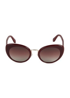 Miu Miu MU O6TS 53MM Oval Sunglasses