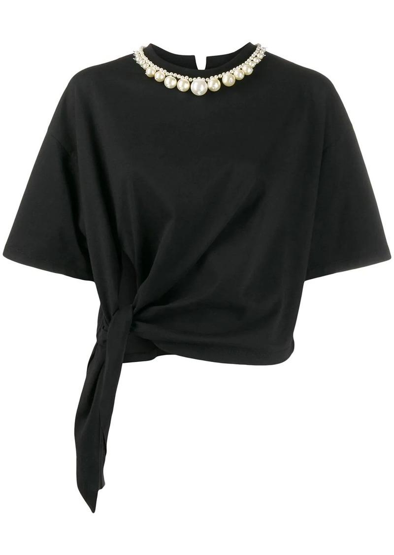 Miu Miu necklace detail T-shirt
