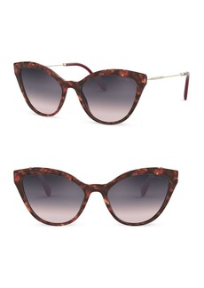 Miu Miu OMU 03US 55MM Cat Eye Sunglasses