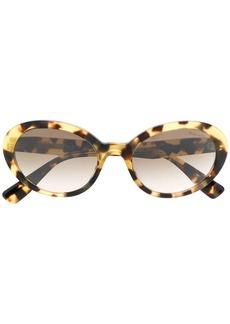 Miu Miu oval shaped sunglasses