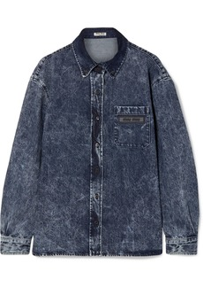 Miu Miu Oversized Denim Shirt