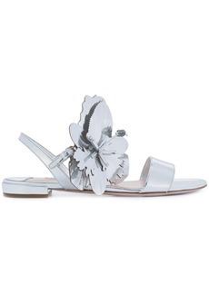 Miu Miu oversized flower sandals