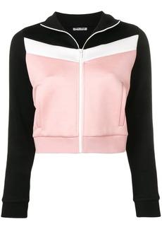 Miu Miu panelled track jacket