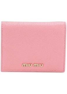 Miu Miu pastel billfold wallet
