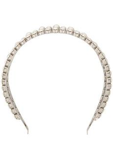 Miu Miu pearl-embellished headband