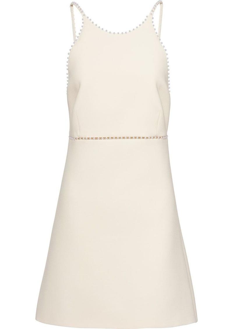 Miu Miu pearl-embellished mini dress