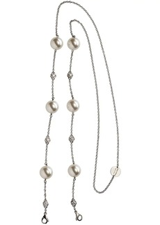 Miu Miu pearl eyewear chain