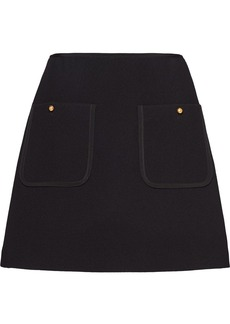 Miu Miu pocket detail high-waisted skirt