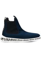 Miu Miu pull-on sneakers