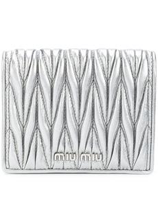 Miu Miu quilted wallet