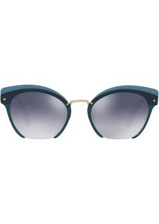 Miu Miu Rasoir sei-rimless sunglasses