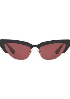 Miu Miu razor cat eye sunglasses