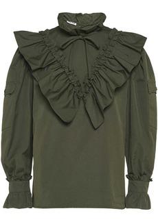 Miu Miu ruffled blouse