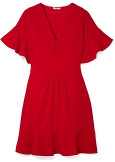 Miu Miu Ruffled Cady Dress