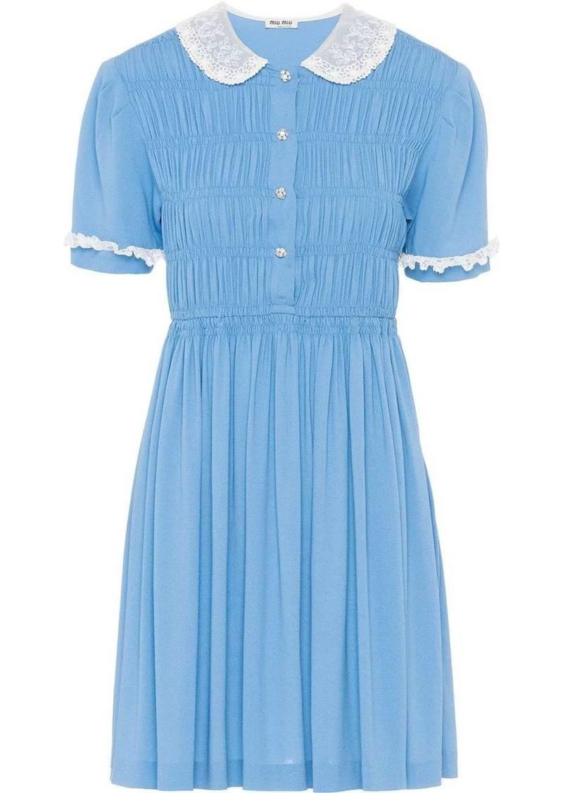 Miu Miu Sablé dress