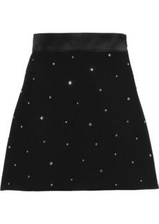 Miu Miu sequin embellished cady skirt