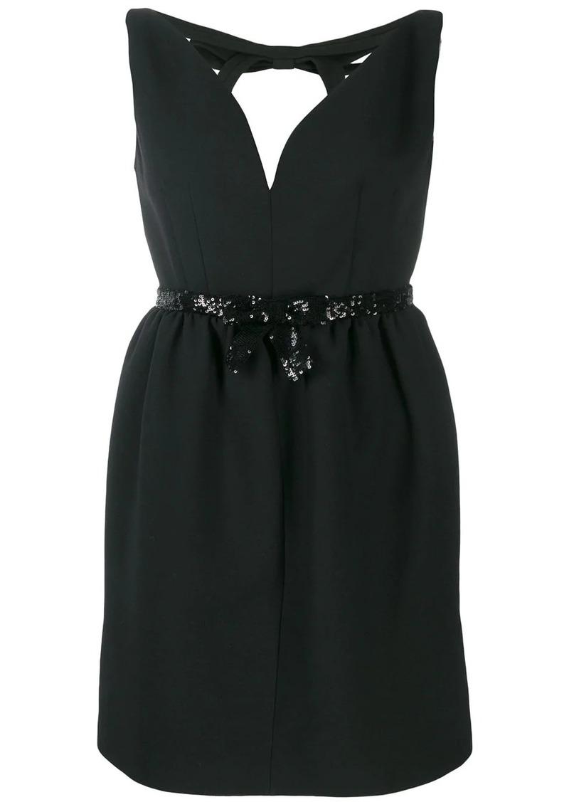 Miu Miu sequin-embellished mini dress