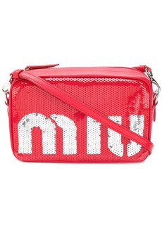 Miu Miu sequin shoulder bag