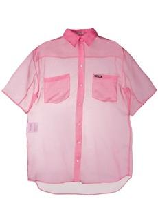 Miu Miu sheer silk shirt